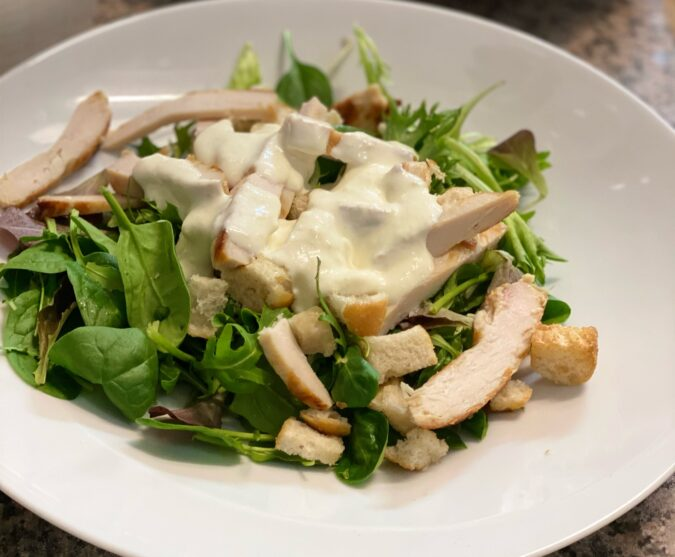 Caesar Salad foto JB